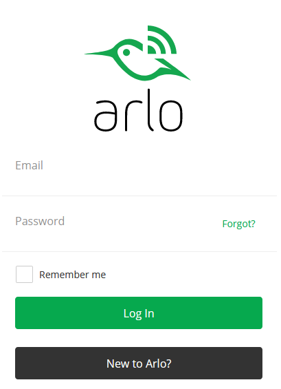 Arlo Login My Account